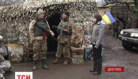 Украинские бойцы нашли арсенал оружия российского производства