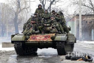 Фейковий обстріл Луганська. Бойовики заявили про знищення своєї військової техніки