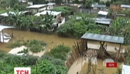 Юг Перу страдает от высокой воды