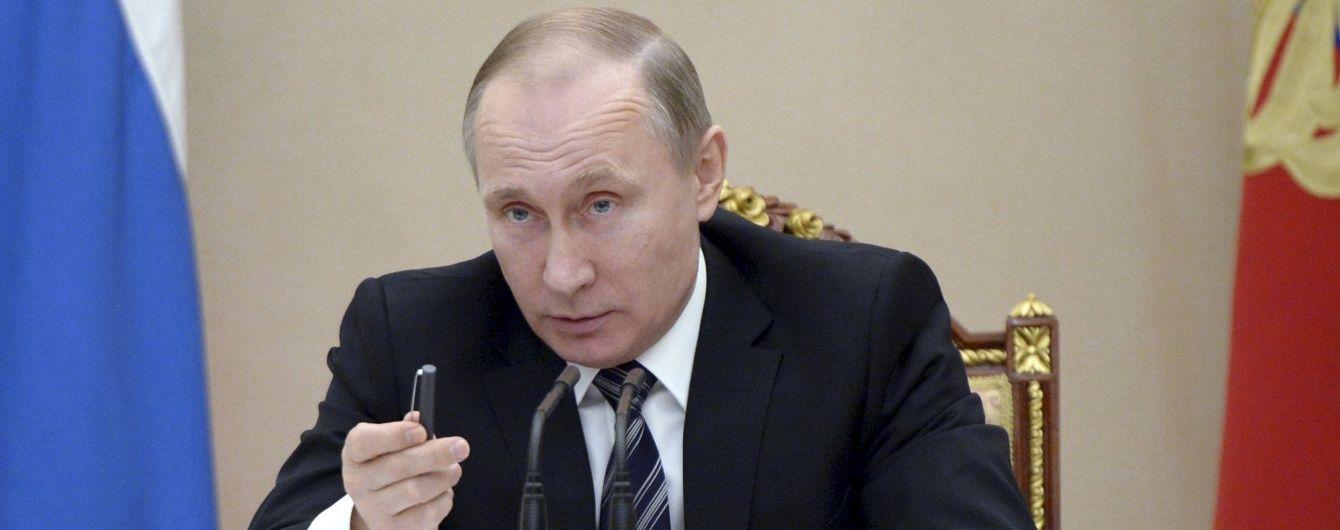 Путін вважає, що українська влада повинна реалізувати Мінські угоди