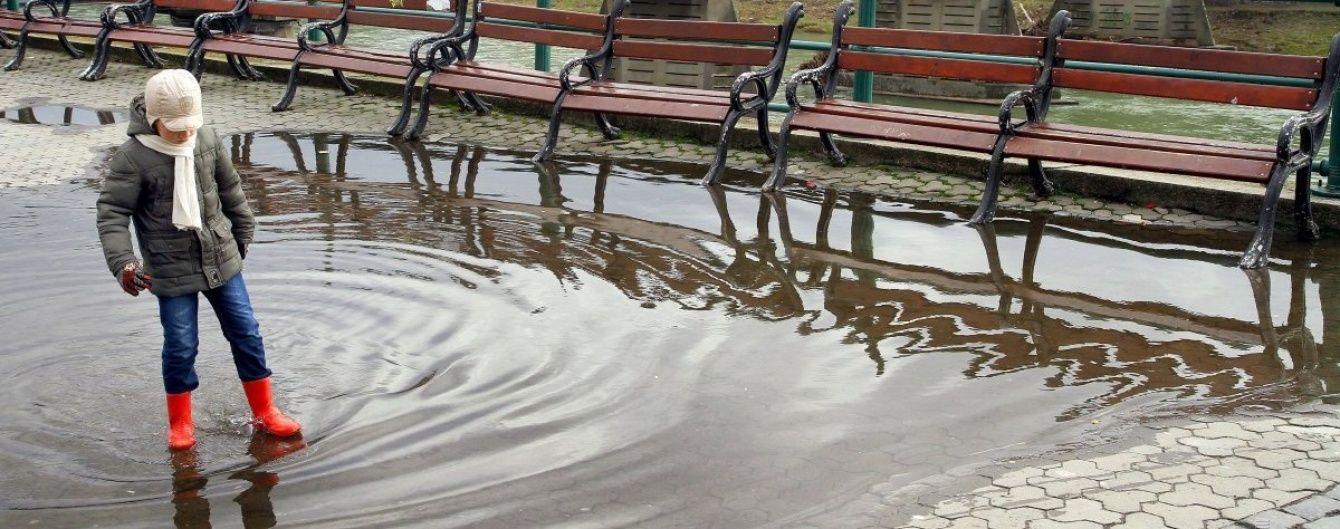 В Україну повернулися дощі та холод