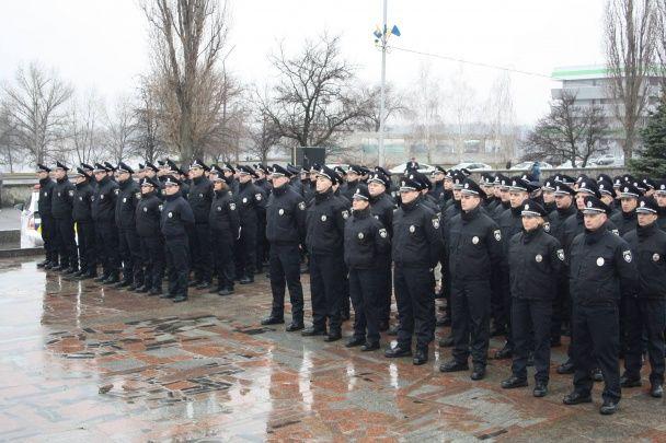 У Кременчуці почала працювати нова патрульна поліція: на одне місце претендували 13 кандидатів