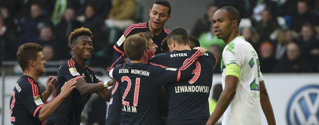 """""""Баварія"""" впевнено розправилася з """"Вольфсбургом"""" у чемпіонаті Німеччині"""