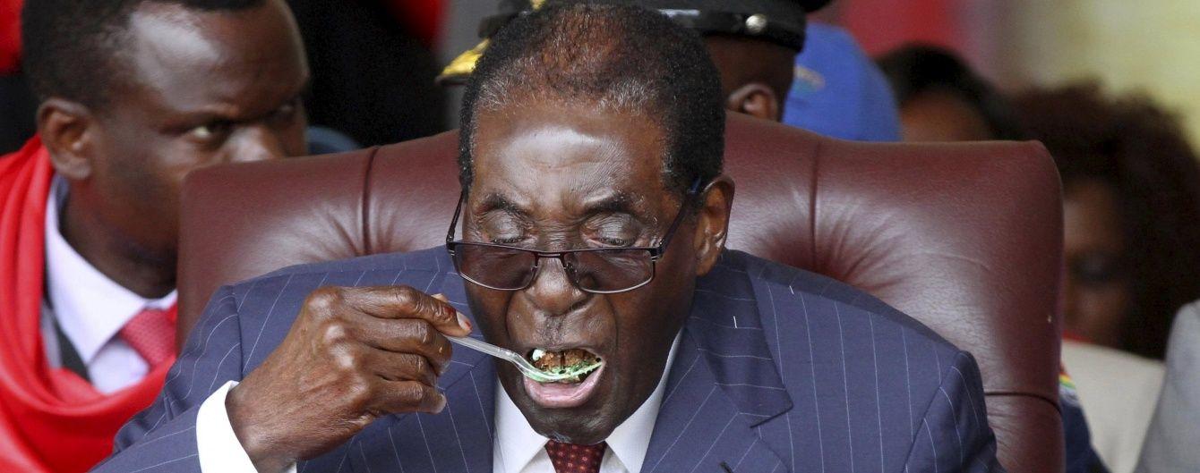 Президент Зімбабве витратив на свій 92-й день народження один мільйон доларів