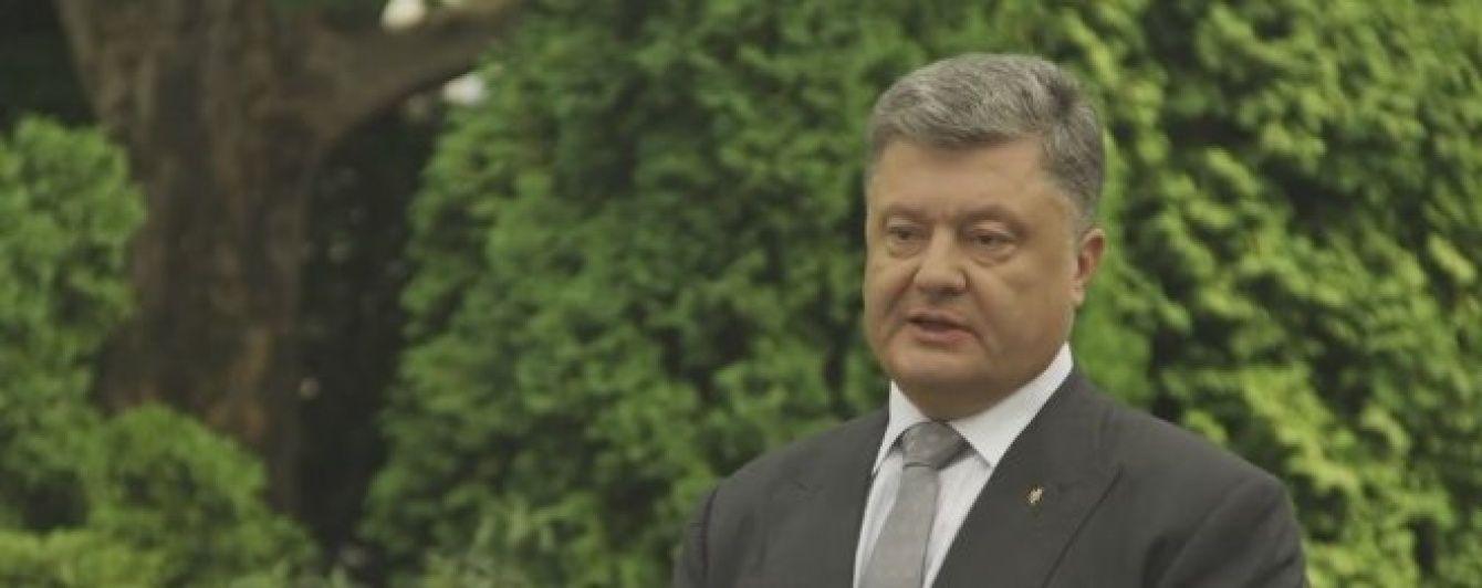 Порошенко розповів, як їздив до Криму на переговори під час анексії півострова