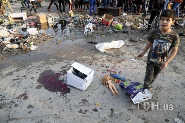 В Іраку потужний теракт забрав життя більше 20 людей