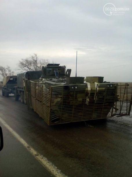ВСУ вернули из Широкино замин6ированный боевиками украинский БТР