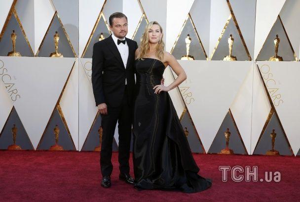 """""""Оскар-2016"""": Вінслет та Ді Капріо злилися в обіймах, згадавши часи """"Титаніка"""""""