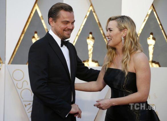 ДіКапріо та Вінслет на Оскар 2016_4