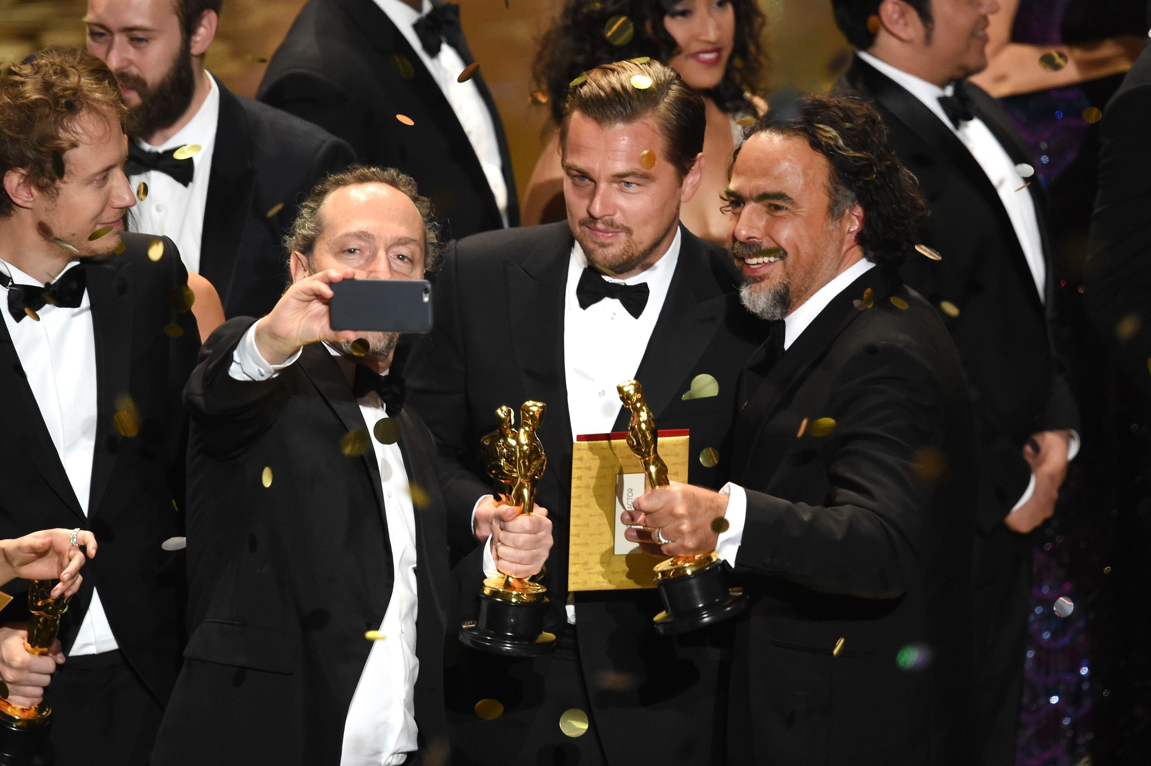 на какие фильмы ди каприо был номинирован на оскар