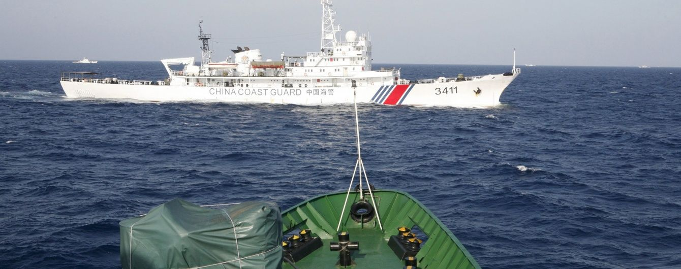 Японські військові кораблі наблизилися впритул до спірних з Китаєм островів