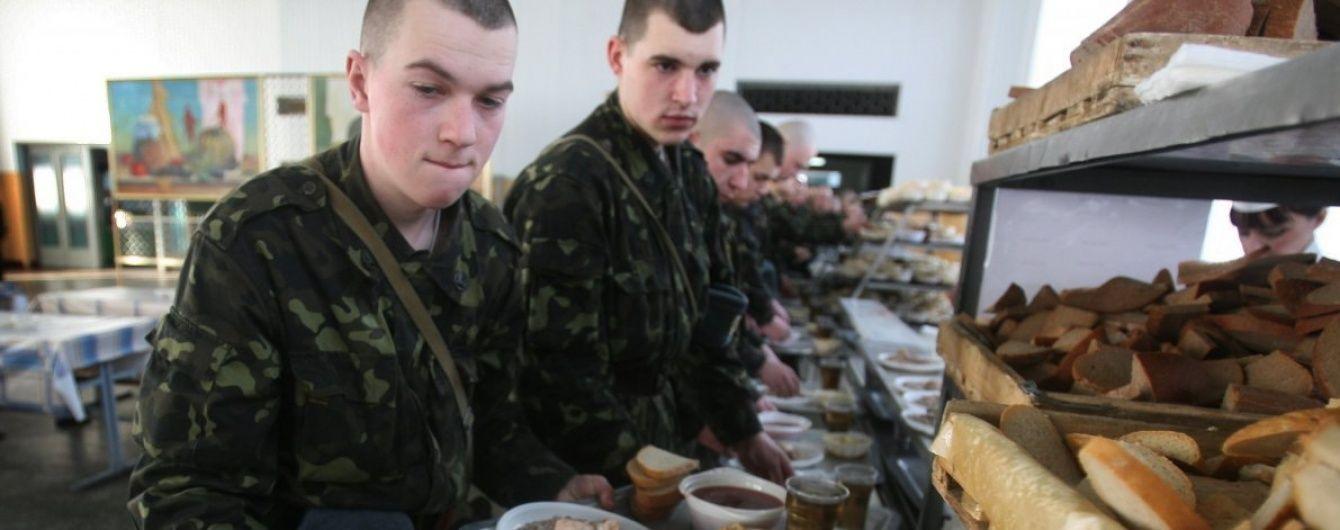 Армійське меню. Міноборони проводить електронний аукціон із закупівлі продуктів