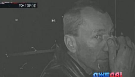 Выпивоха устроил театральное представление в Ужгороде