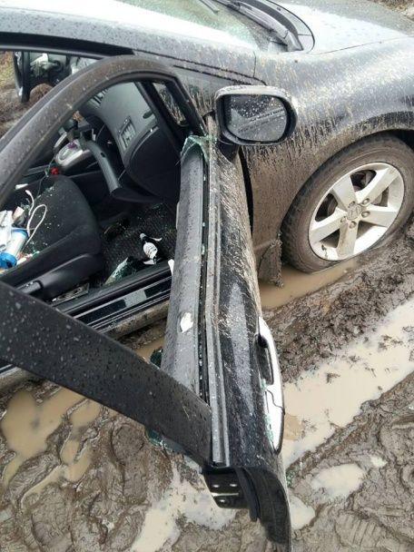 Під Києвом патрульні влаштували переслідування зі стріляниною за п'яним водієм