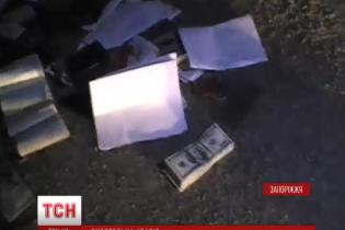 На месте смертельного ДТП под Запорожьем найден почти миллион гривен