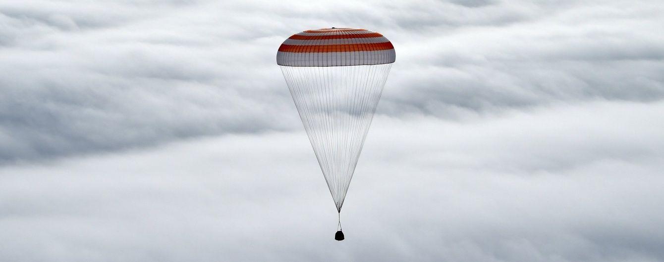 У Казахстані успішно приземлився екіпаж МКС