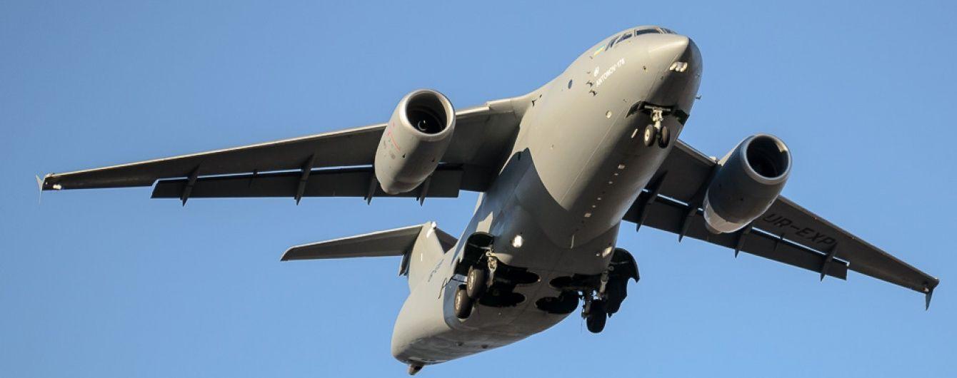Порошенко показав захопливе відео віражу українського Ан-178 на авіасалоні у Фарнборо