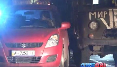 ДТП с участием военных произошло в Мариуполе