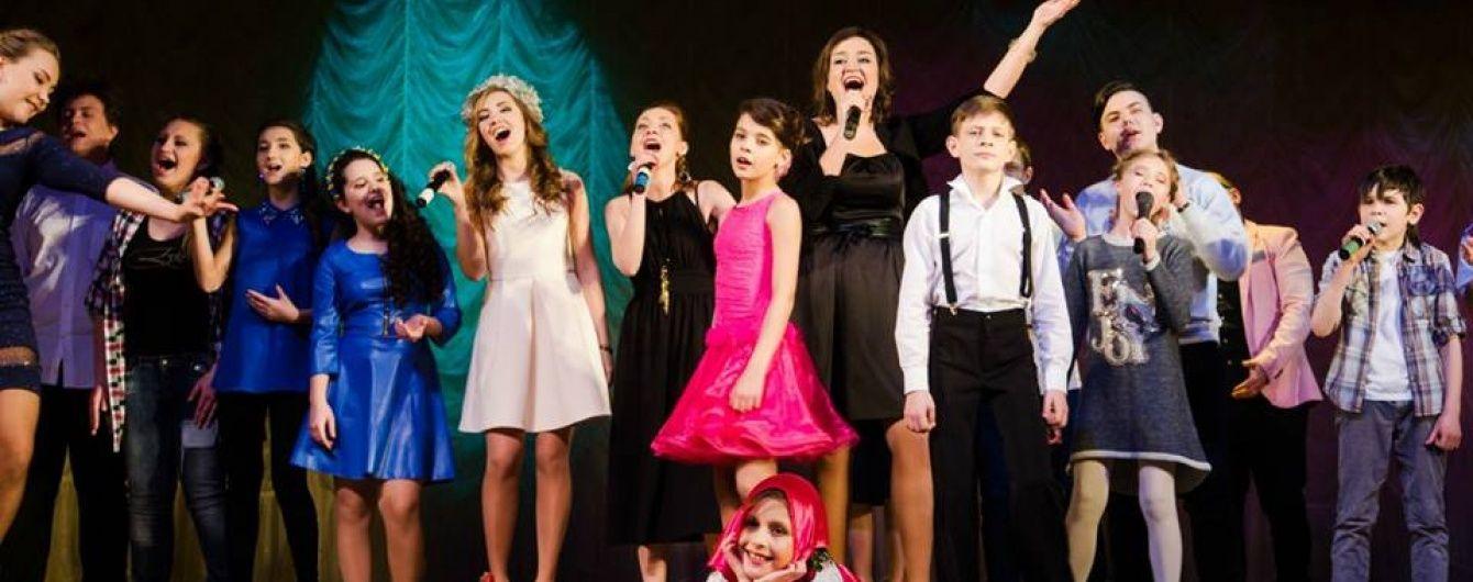 Для дітей, постраждалих від війни на Сході України, відбулося грандіозне талант-шоу