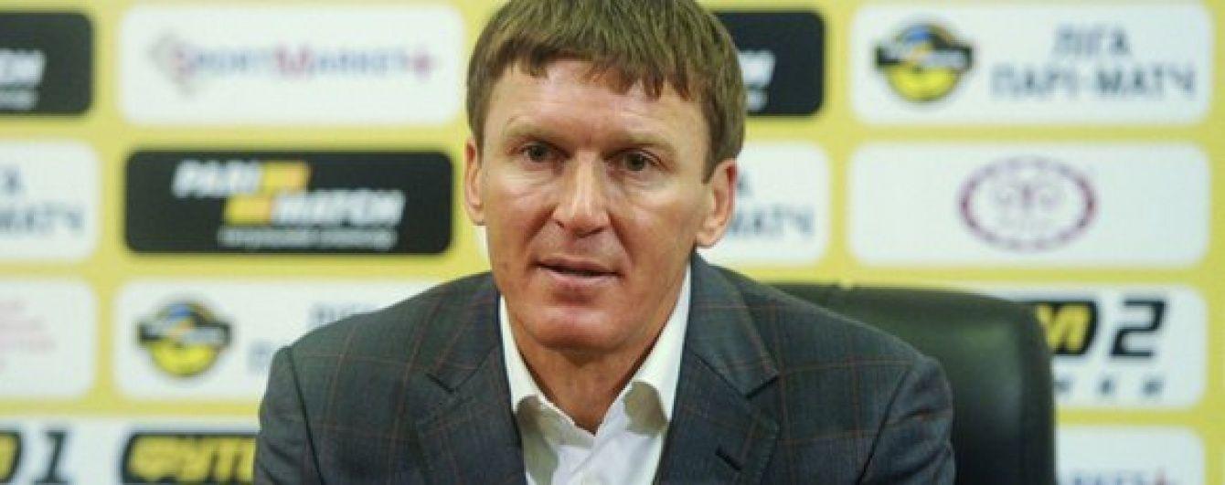 """Тренер """"Ворскли"""" пообіцяв помститися """"Шахтарю"""" за поразку в Кубку України"""