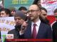 Ранок під Київрадою почався одразу кількома мітингами