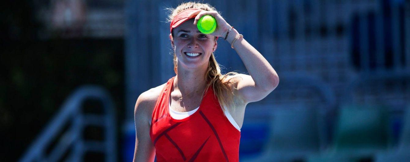 Українка Світоліна пробилася до чвертьфіналу тенісного турніру в Малайзії