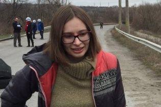 Луганську журналістку Варфоломеєву звільнили з полону