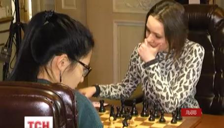 Украинка Музычук программа черными вторую партию чемпионского матча