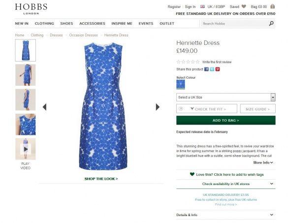 Платье от Henriette