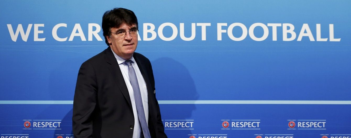 В УЄФА знайшли заміну Інфантіно