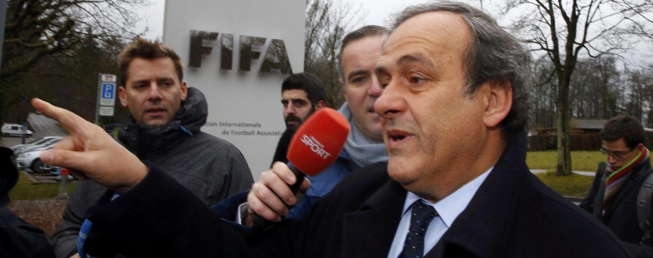 УЄФА продовжить відтягувати дату виборів президента організації заради Платіні