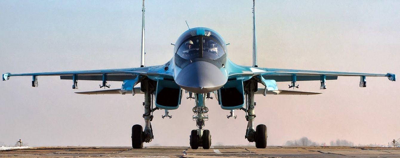 Українська розвідка попереджає про перекидання російських Су-34 до Сирії