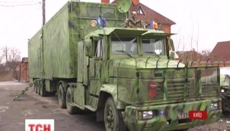 Волонтери підготували воякам банний комплекс, перукарню і відпочивальню на колесах