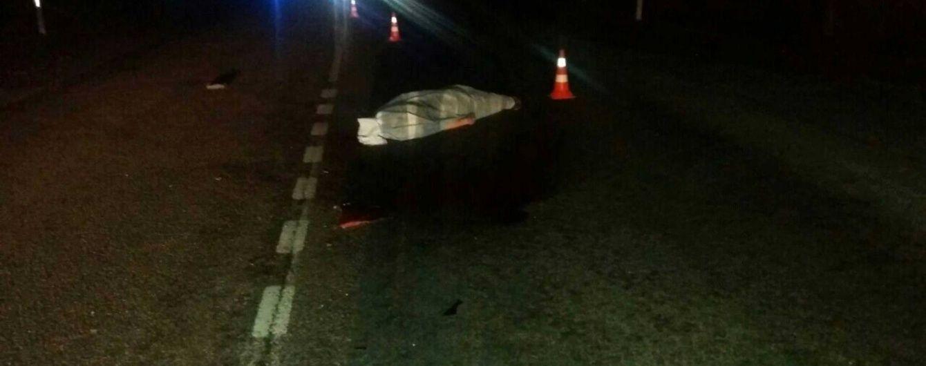 На Львівщині збитого на смерть пішохода ще раз переїхав п'яний водій