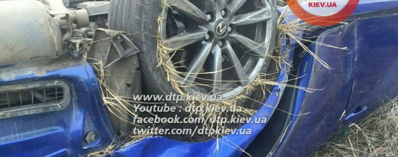 Водій Lexus пояснив криваве ДТП у Києві заблокованими колесами