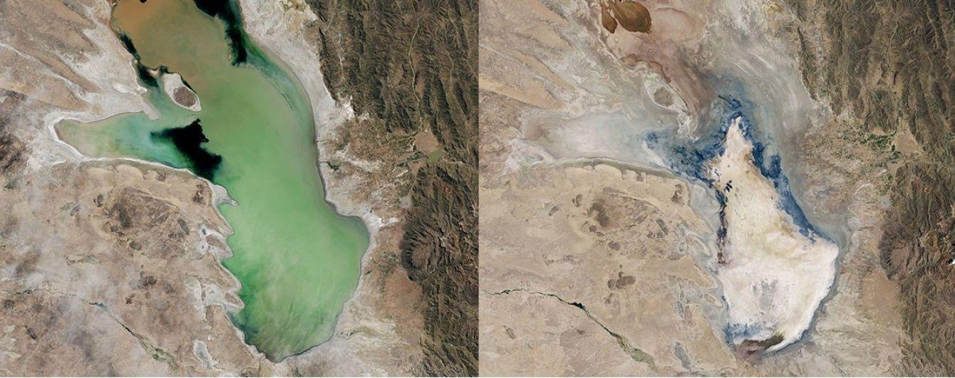 Учені пророкують зникнення найбільших озер планети