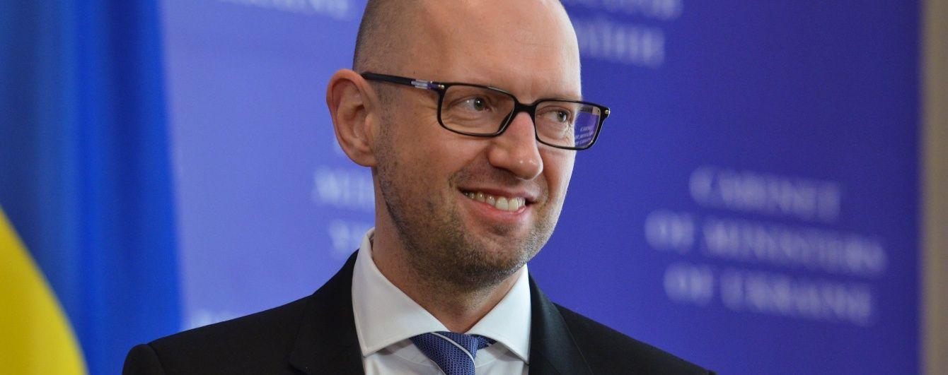 Яценюк назвав три сценарії виходу з політичної кризи і вибрав комфортний для себе