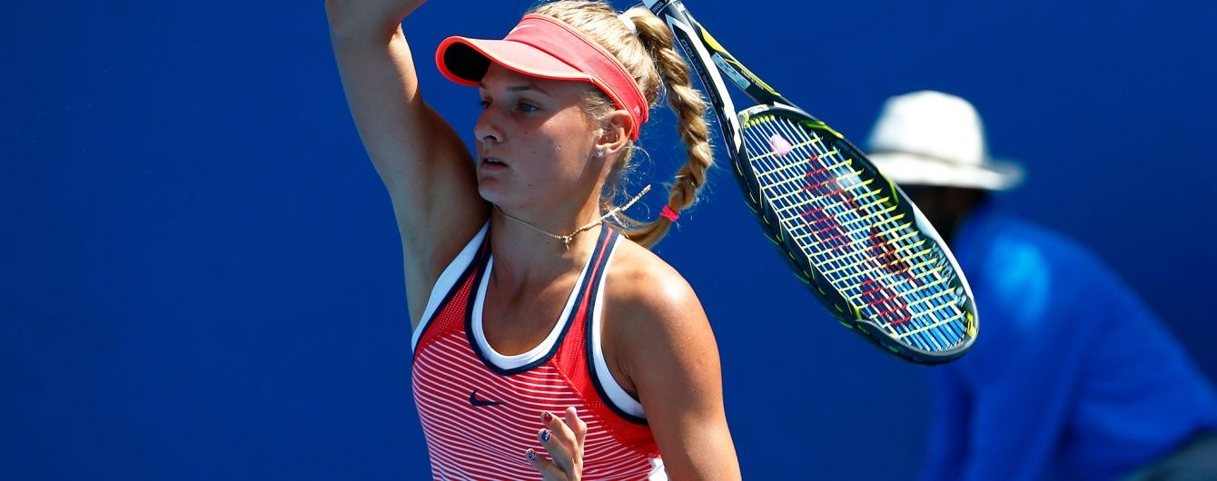 Юна українська тенісистка стала наймолодшим переможцем турніру з призовим фондом 25 тисяч доларів