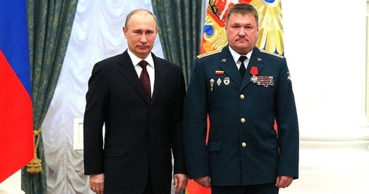 Генерал-майор ЗС РФ Асапов Валерій Григорович