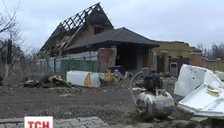 Боевики обстреляли поселок Пески