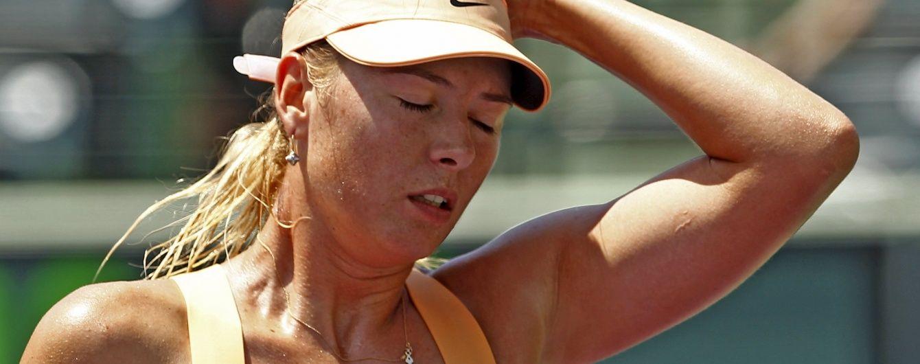 Російській тенісистці Шараповій загрожує дискваліфікація на 4 роки через допінг