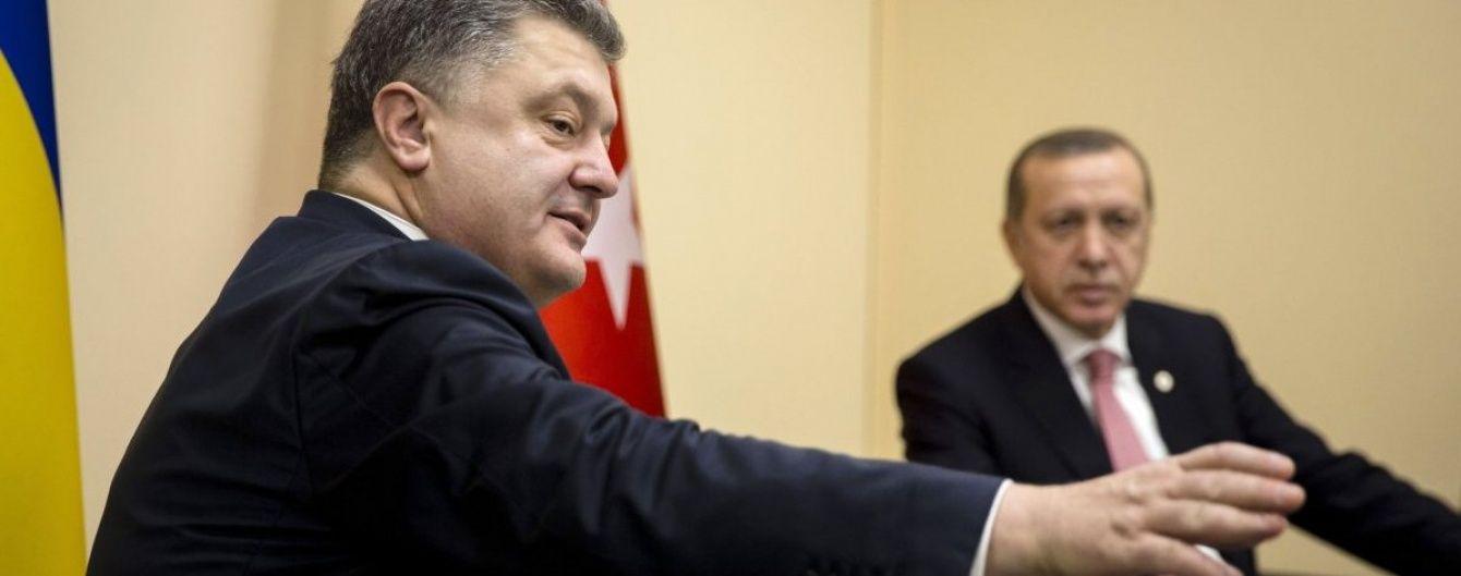 Порошенко підтримав Ердогана і доручив посилити заходи безпеки в Україні