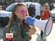 Столичні активісти влаштували ходу, присвячену захисту прав жінок