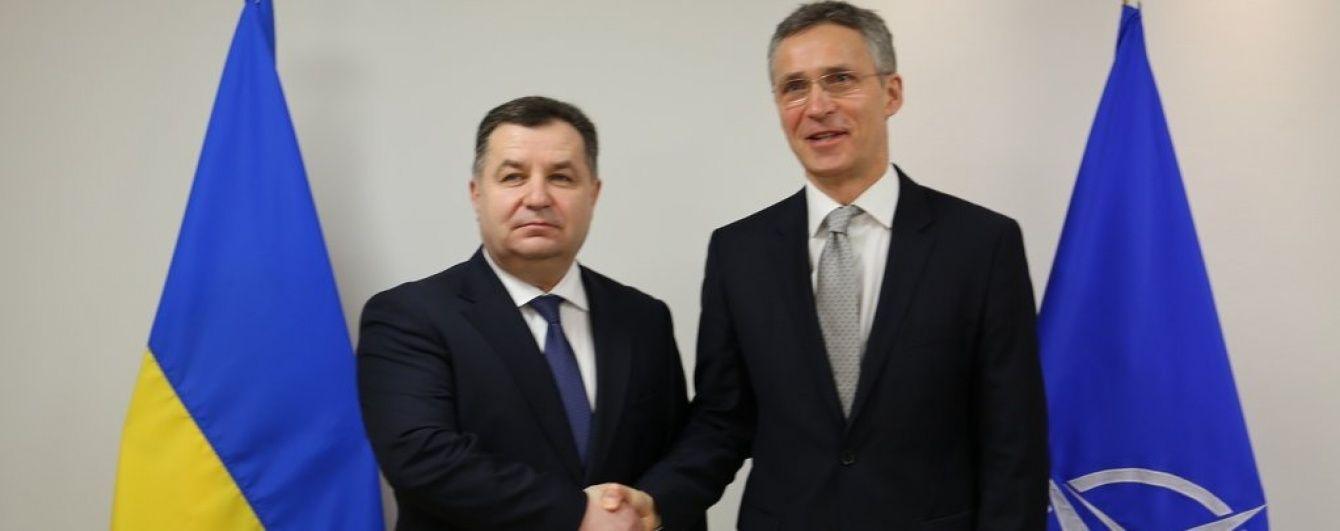 Полторак розповів Столтенбергу про рішучість і зусилля України на шляху до НАТО