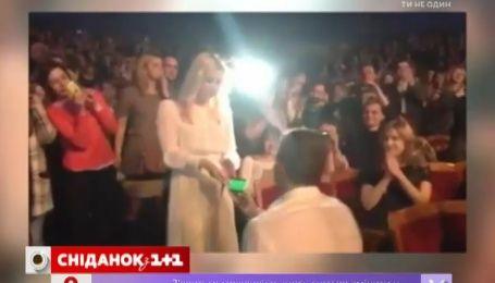 Арсен Мирзоян сделал предложение руки и сердца Тони Матвиенко прямо во время концерта