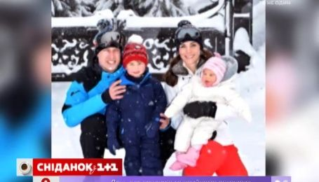 Принц Уильям и Кейт Мидлтон повезли детей на отдых во французские Альпы