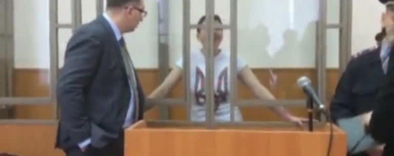 З'явилися перші відео з Надією Савченко після шести днів сухого голодування
