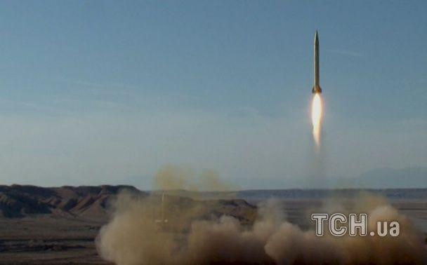 Іран похизувався перед світом запуском балістичної ракети