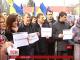 У Києві пікетують посольство Росії і вимагають звільнити Савченко