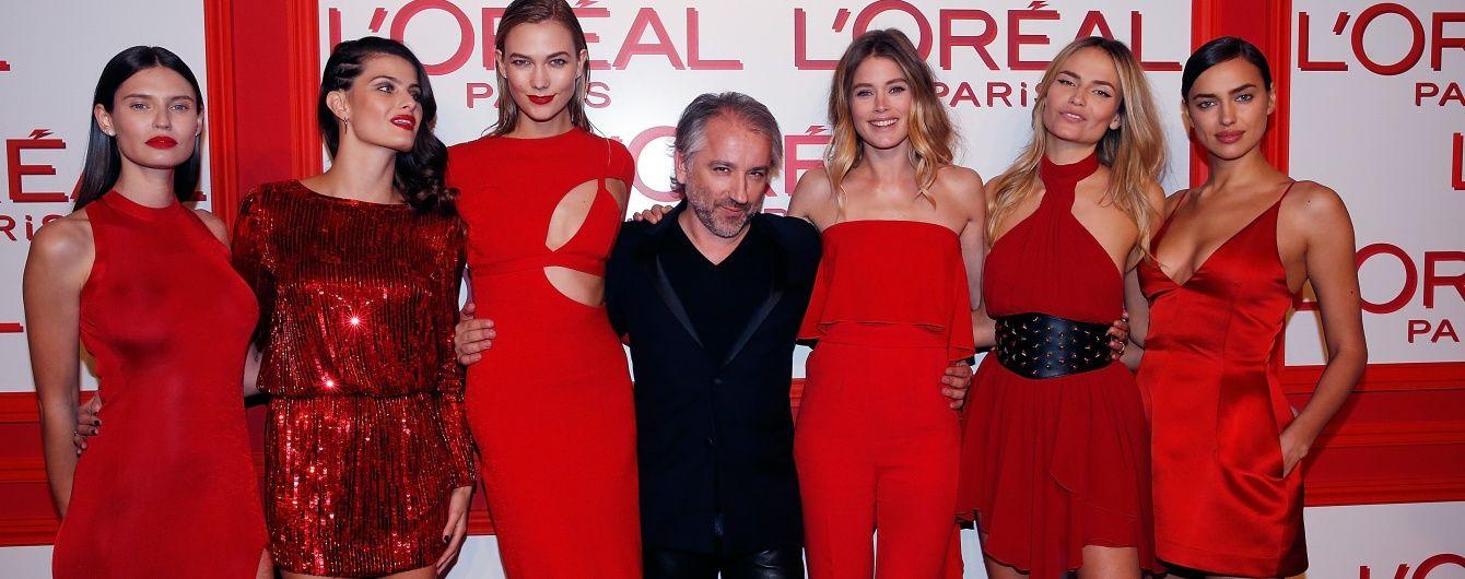 Вечірка червоних суконь: Ірина Шейк, Єва Лонгорія, Карлі Клосс та інші